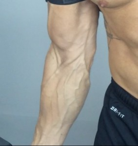 how to get bigger veins in arms