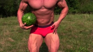 Todd Lamb with Watermelon - SpecForce
