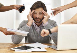 stress reduces male sex hormones