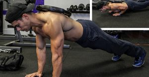 Todd Lamb - Alpha Nation - Weighted Pushup - Best Chest