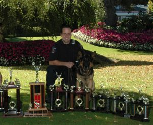 Todd Lamb - Saanich Police Canine